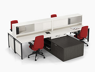 office furniture pics. Exellent Office White Workstation With Red Chairs On Office Furniture Pics